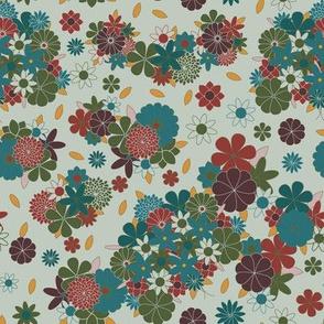 Flowers Abound 158sp