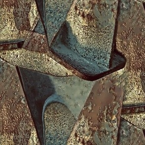 Corroded bow anchor 2