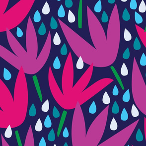 April Showers Flora