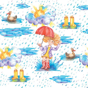 The first spring rain