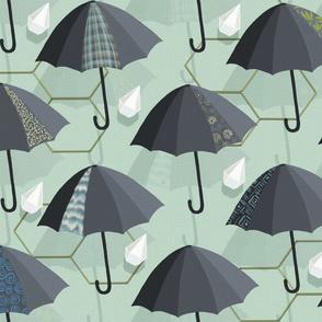 April Showers - Diamond Rain// Kim Marshall