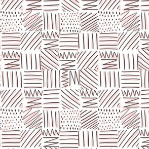 Lines, Squiggles & Dots in Pink