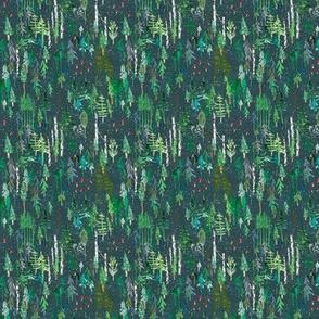 Noël Forest (teal) XXXSML