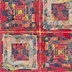 Quiet Colors: Layered Patchwork