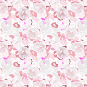 Spring Rain on Pink