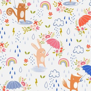 April Showers and May Flowers - small repeat