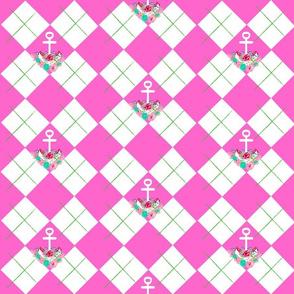 argyle anchor summer pink apple -MED6-ch-ed-ed