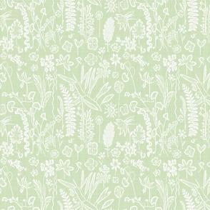 Collectors Garden Mint Linen sm