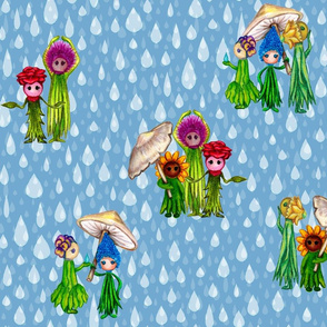Rain Showers & Flower Maidens