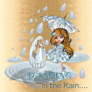 I'm dancing in the rain- panel