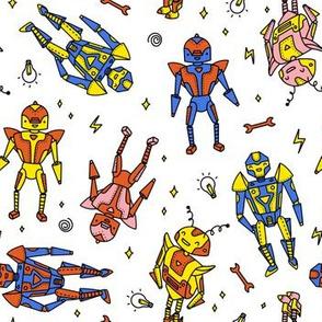 Robots Tranformers - colorful