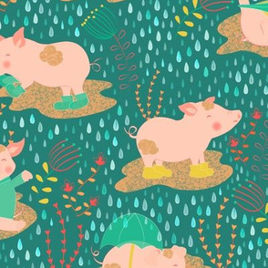 Piggies and Puddles