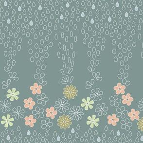April Showers Kimono