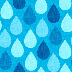 Raindrops - Jumbo Scale