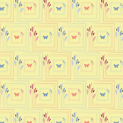 Vasanta  Leaf and Butterfly Tiles