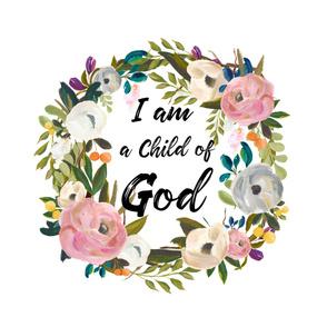 "54""x72"" I am a Child of God"