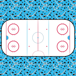 hockey playmat