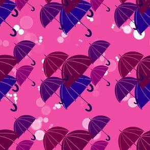 Umbrella Storm - Puking Pink