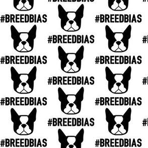 Boston Terrier breed bias - Boston fabric DIY