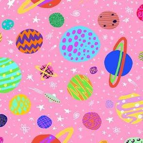 Funky Space Pink