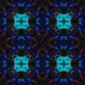 deep blue mysterious