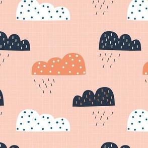 Rain Clouds Pink