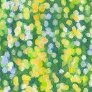 Green watercolor bokeh (smaller scale, vertical)