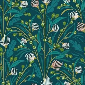 Vertical eucaliptus