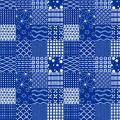 Shibori - patchwork