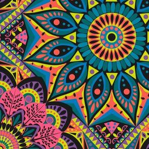 Mandala - Trippy colorway