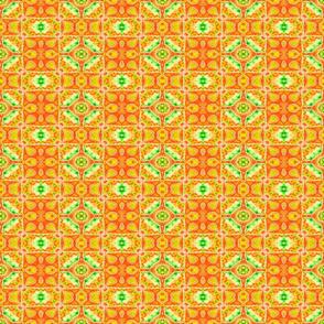 Golden Aztec Squares