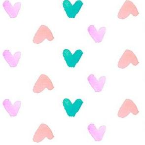 hearts polka jewel big