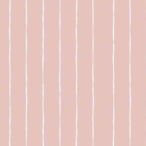 wide pinstripes dusty pink vertical
