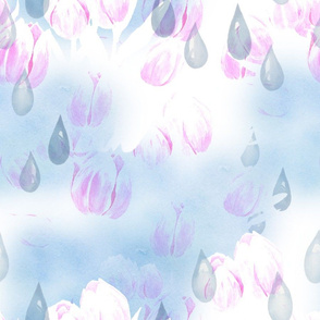 April Showers Rain Drops