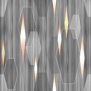 Mid Century Modern Lanterns gray