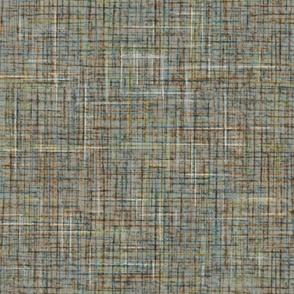 Mid Century Modern Barkcloth gray