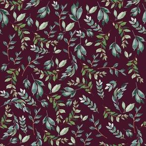 "8"" Wild at Heart Branches Crimson"