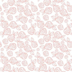 """8"""" Pink Roses"""