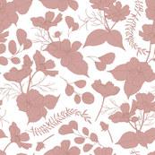 Cosmos Flower // tone-in-tone // clay