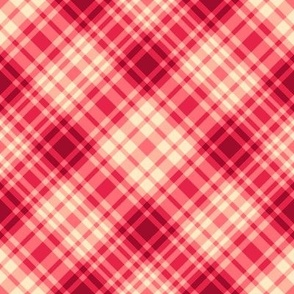 Blood Orange Tartan Plaid