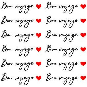 Bon voyage Love