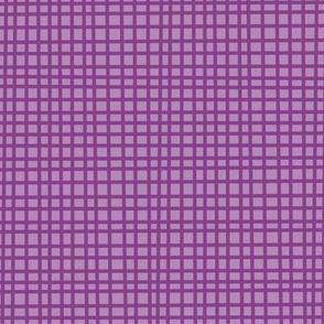 Purple crosshatch