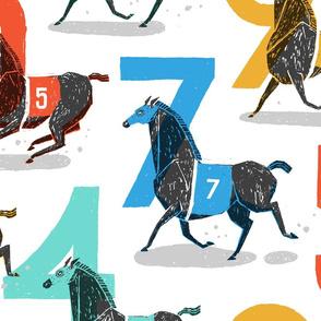 Race Horses [Large]