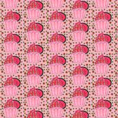 watermelon kiss cupcake
