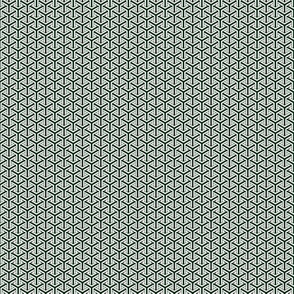 Japanese Wagara Y Weave in Green