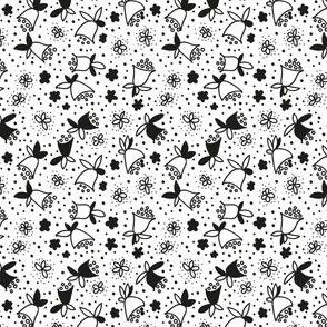 bell flower doodle