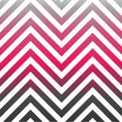 Magenta chevron herringbone pattern with gray gradient