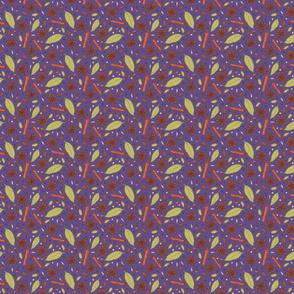 Garam Masala on Purple