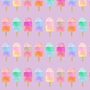 Rainbow Pops // Lavender
