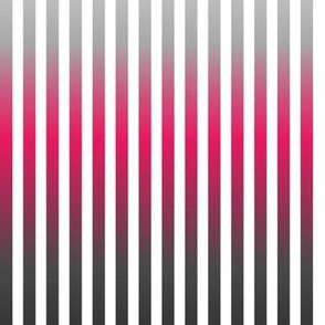 bold vertical fuchsia and  grey gradient